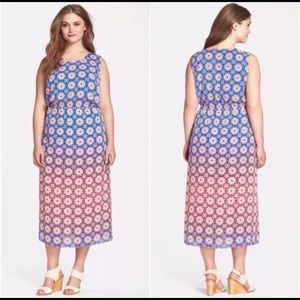 Vince Camuto Moroccan Mirage Maxi Dress - 1x